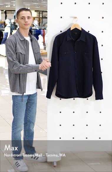 Classic Fit Solid Twill Shirt Jacket, sales video thumbnail