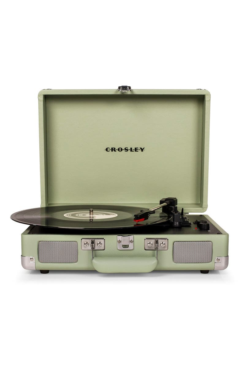 CROSLEY RADIO Cruiser Deluxe Turntable, Main, color, MINT
