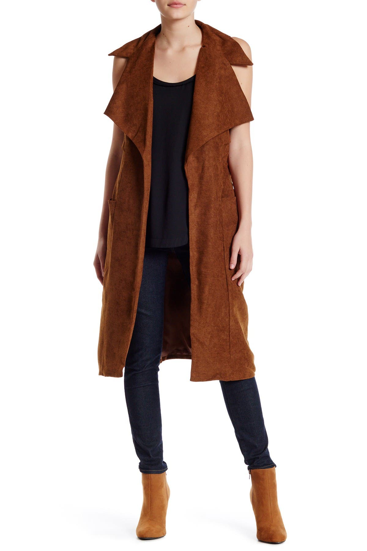 Image of RAGA Ride Out Shawl Collar Vest