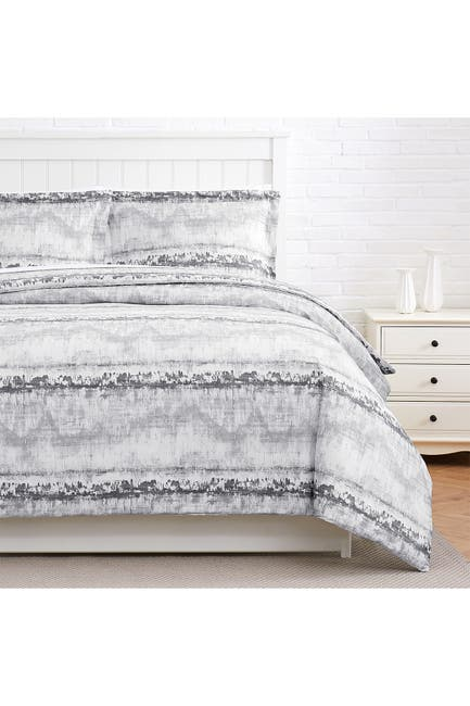 Image of SOUTHSHORE FINE LINENS Premium Collection 300 Thread-Count Long Staple 100% Cotton Oversized Duvet Cover Sets - Full/Queen