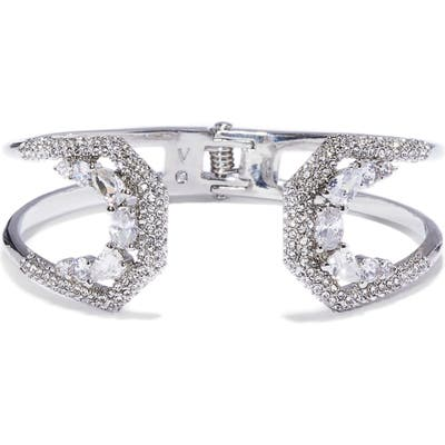 Vince Camuto Pave Crystal Hinge Cuff