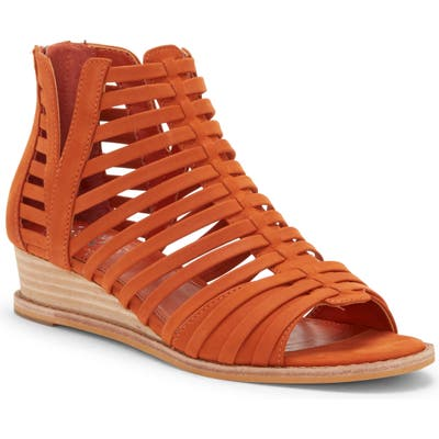 Vince Camuto Revey Wedge Sandal- Orange