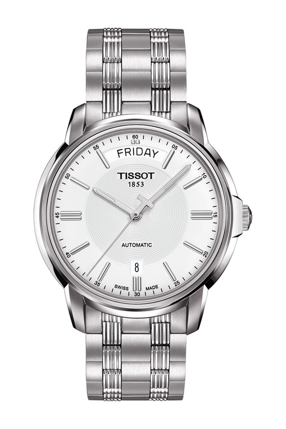 Image of Tissot Men's Automatic III Swiss Watch, 39mm