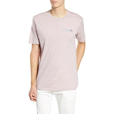 Rvca Blind Motors Logo T-Shirt, Purple