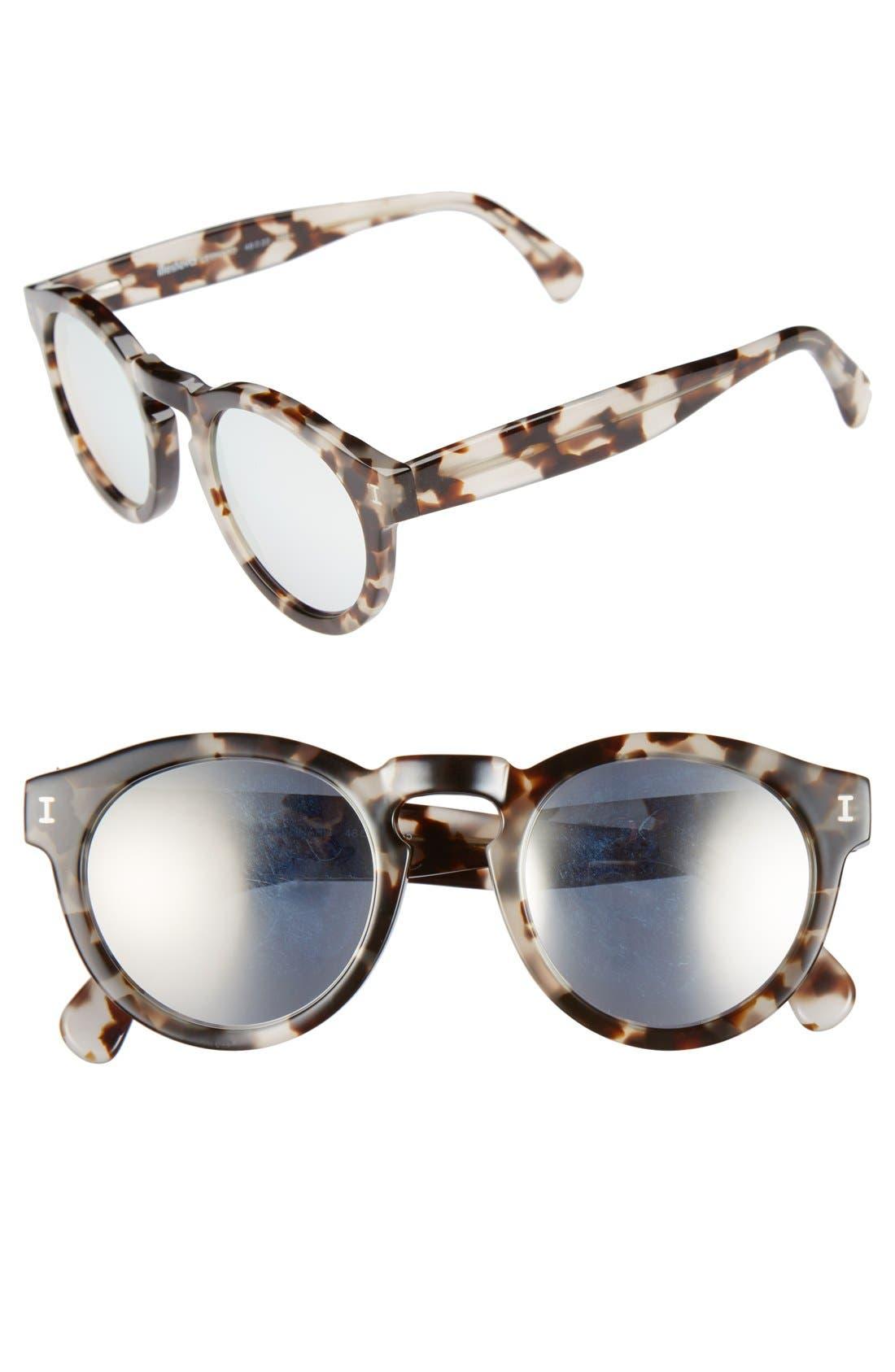 ,                             'Leonard' 47mm Sunglasses,                             Main thumbnail 43, color,                             100