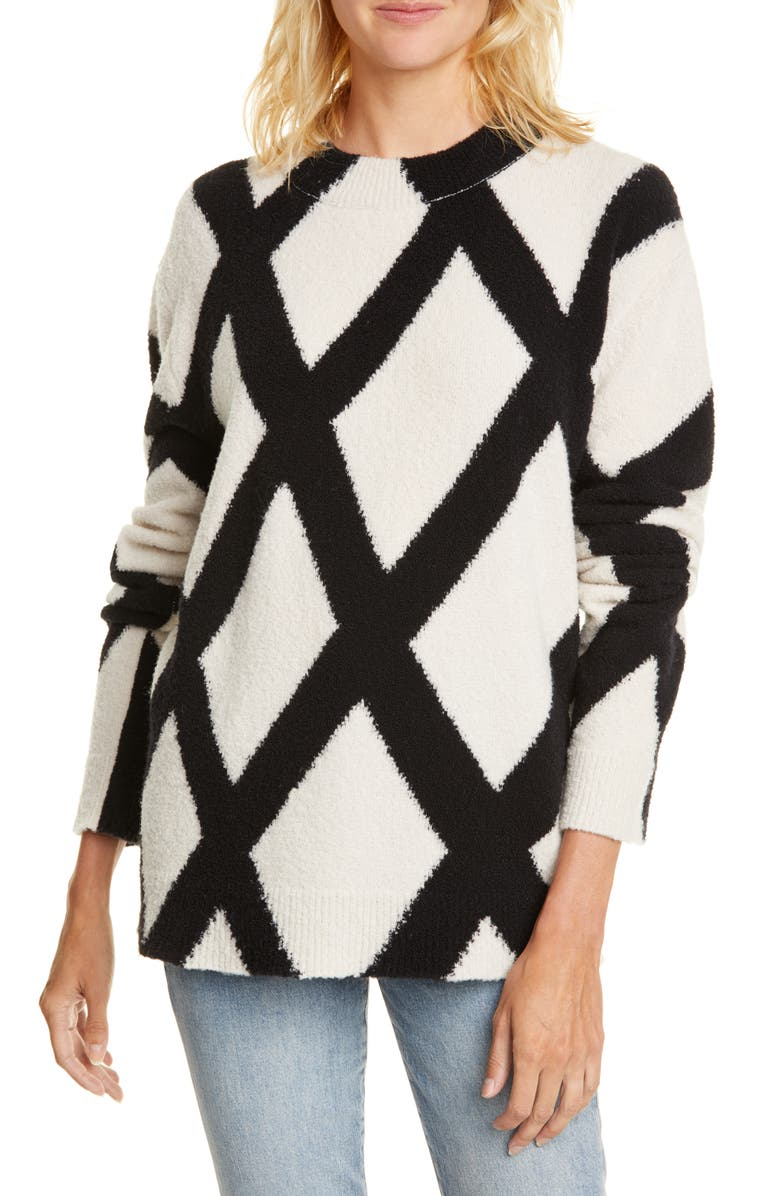 CHRISTIAN WIJNANTS Kasia Wool Blend Sweater, Main, color, 900