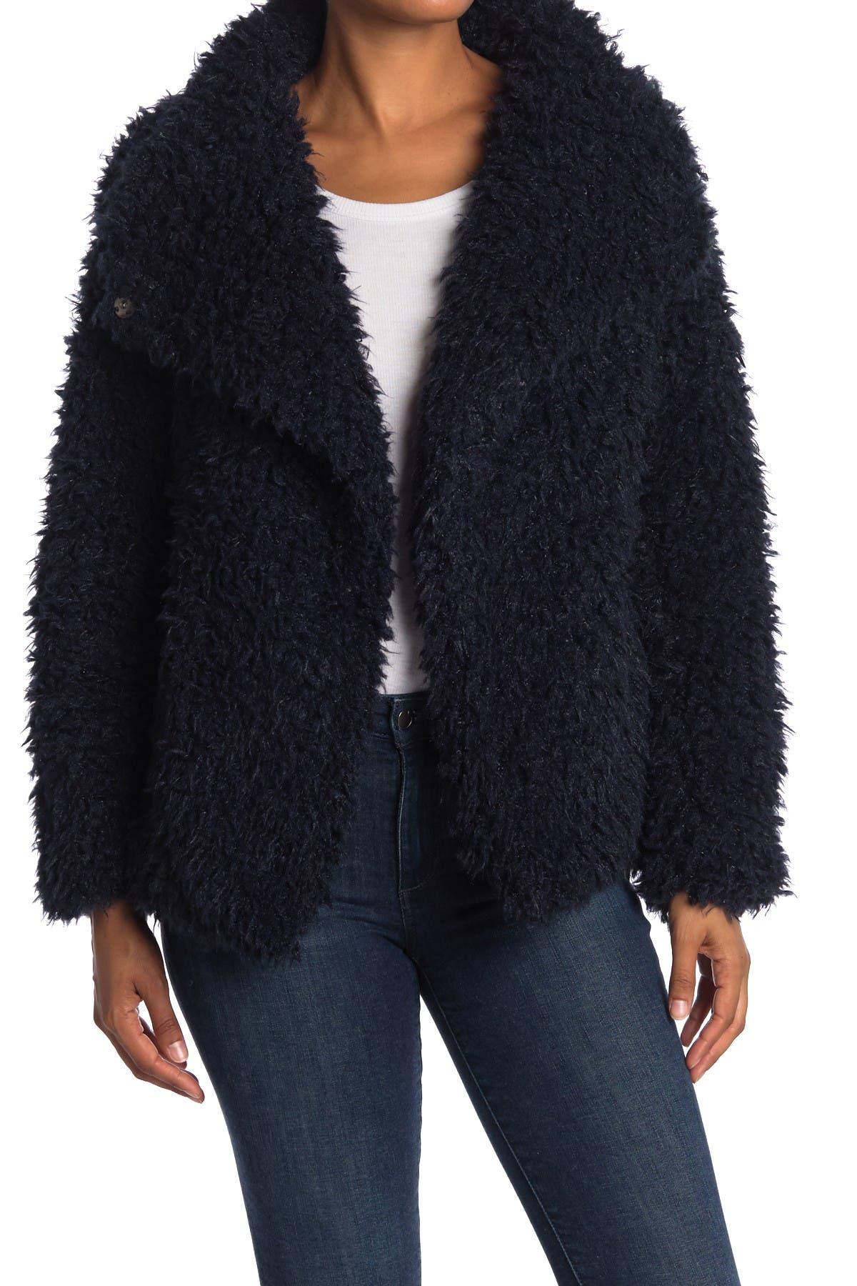 Love Token Cassandra Shaggy Faux Fur Jacket at Nordstrom Rack