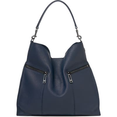 Botkier Trigger Pebbled Leather Hobo - Blue