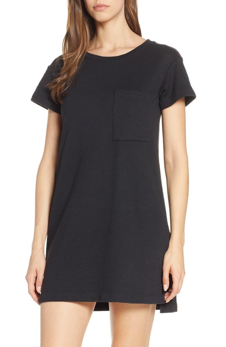 UGG<SUP>®</SUP> Maree T-Shirt Dress, Main, color, 001