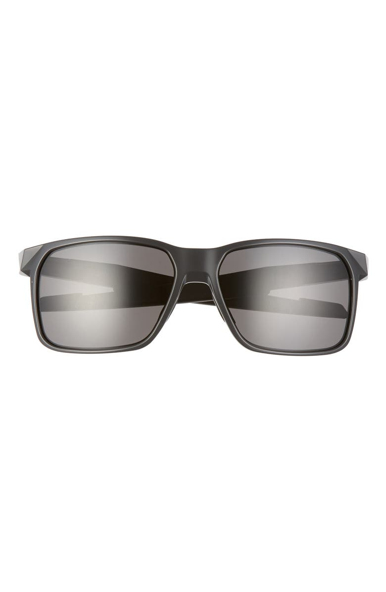 OAKLEY Portal X 61mm Sport Sunglasses, Main, color, CARBON/ PRIZM GREY