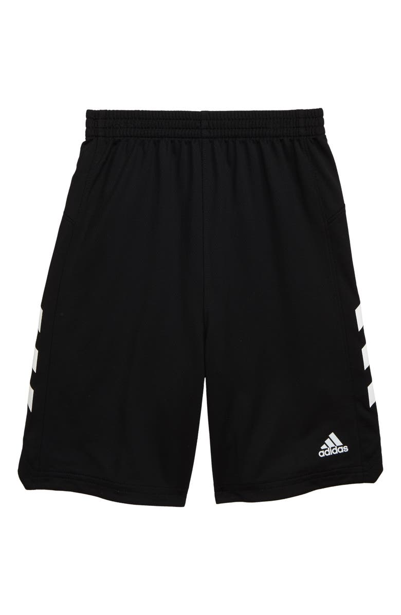 ADIDAS Replen Sport Shorts, Main, color, BLACK