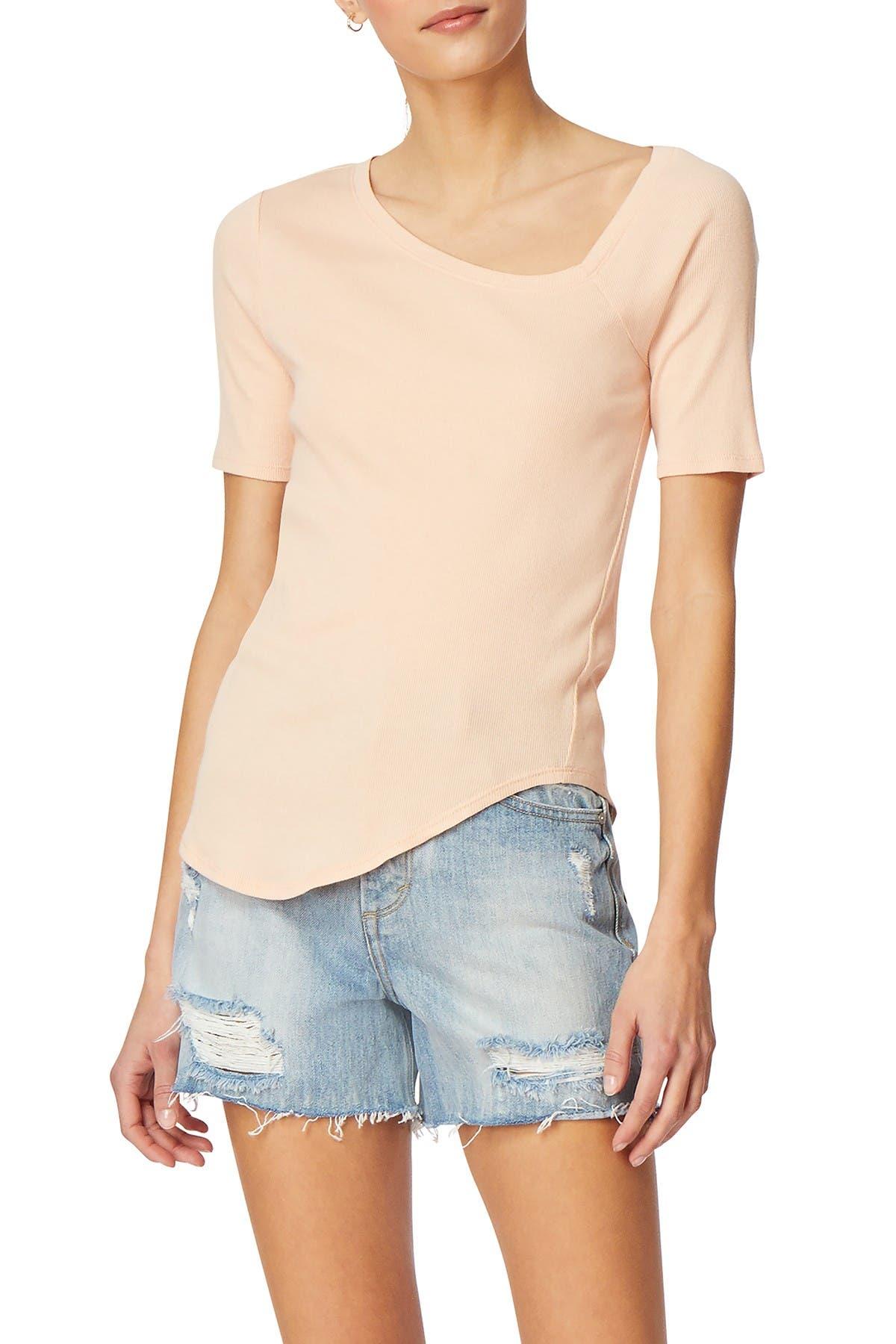 Image of Habitual Astor Asymmetrical T-Shirt