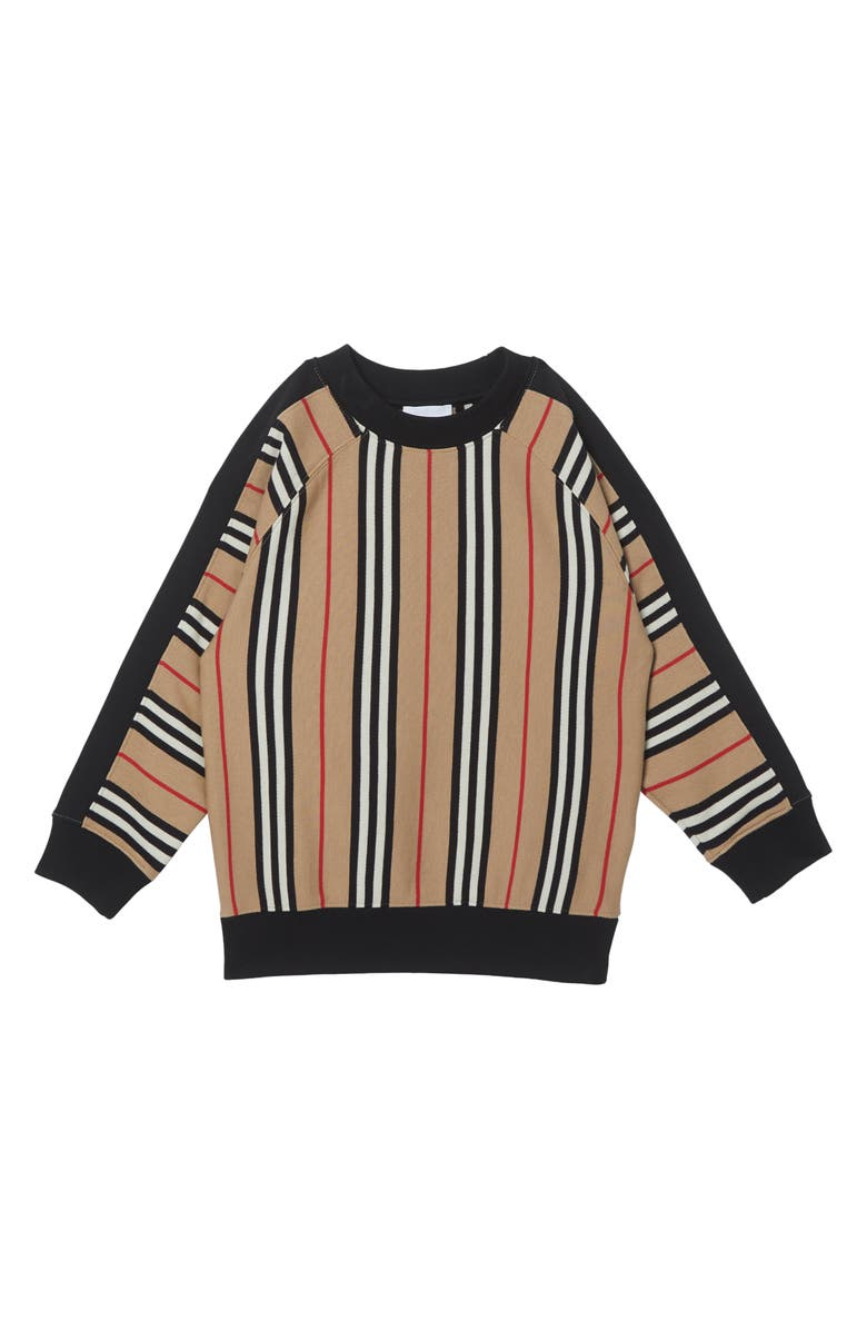 BURBERRY Lance Sweater, Main, color, ARCHIVE BEIGE