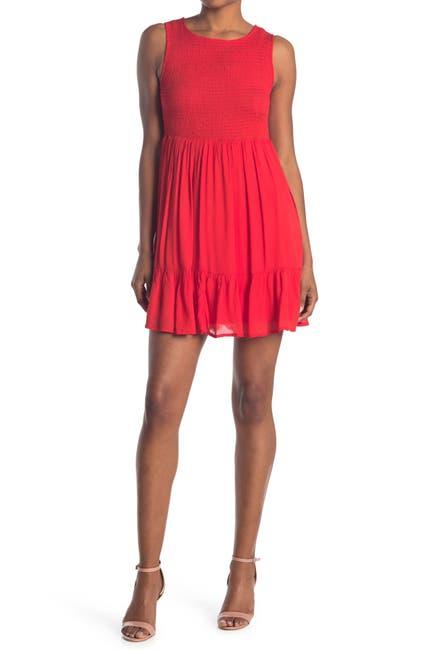 Image of MELLODAY Smocked Sleeveless Dress