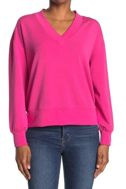 Image of FOR THE REPUBLIC V-Neck Sweatshirt
