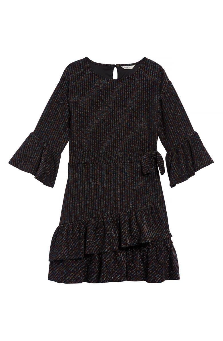 HABITUAL Remy Rainbow Wrap Dress, Main, color, 020