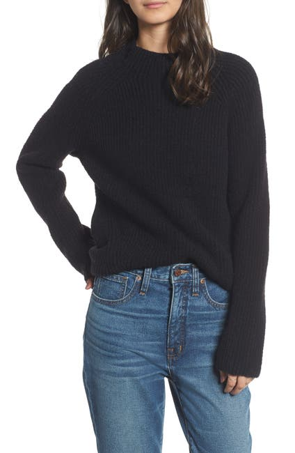 Image of Madewell Northfield Mock Neck Sweater