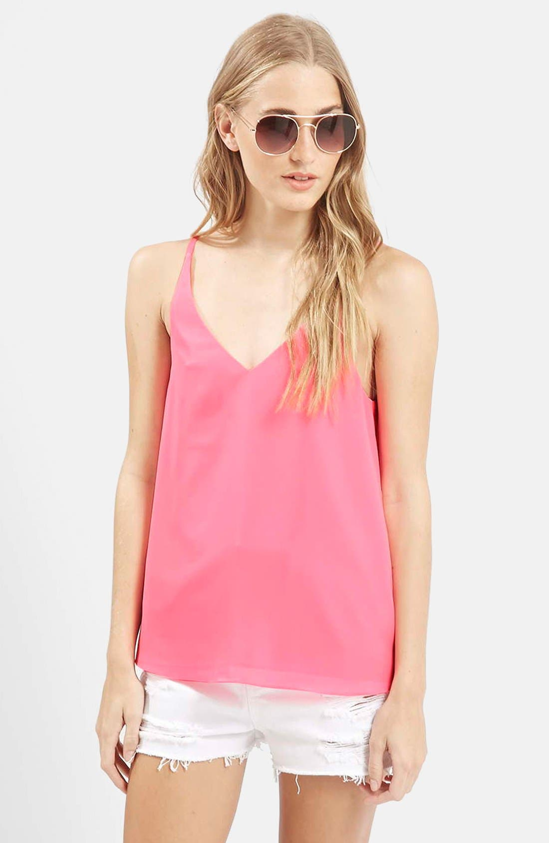 ,                             Strappy V-Neck Camisole,                             Main thumbnail 58, color,                             670