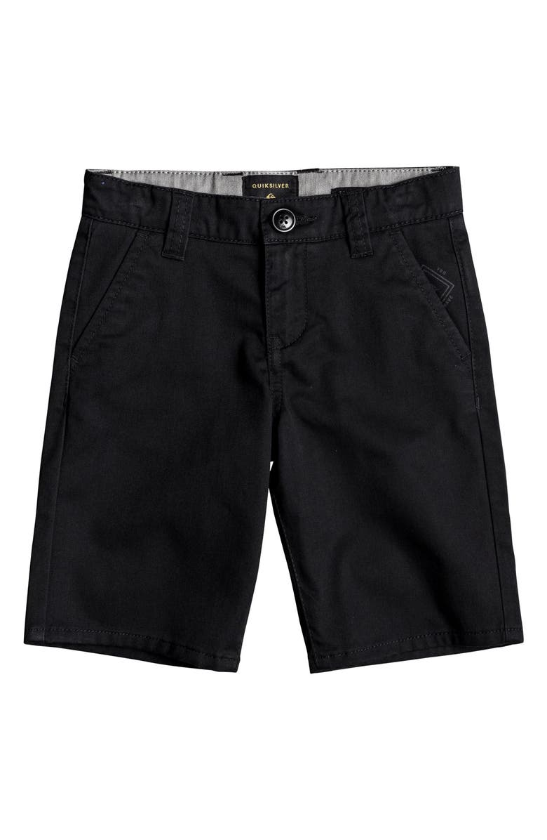 QUIKSILVER Everyday Union Stretch Shorts, Main, color, BLACK