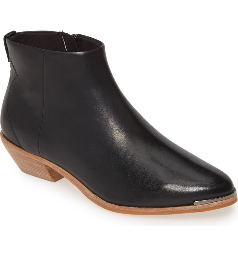 TED BAKER LONDON Dakota Bootie, Main, color, BLACK LEATHER