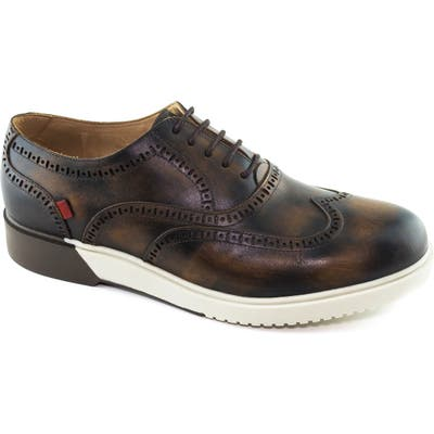 Marc Joseph New York 5Th Ave Wingtip Sneaker, Brown