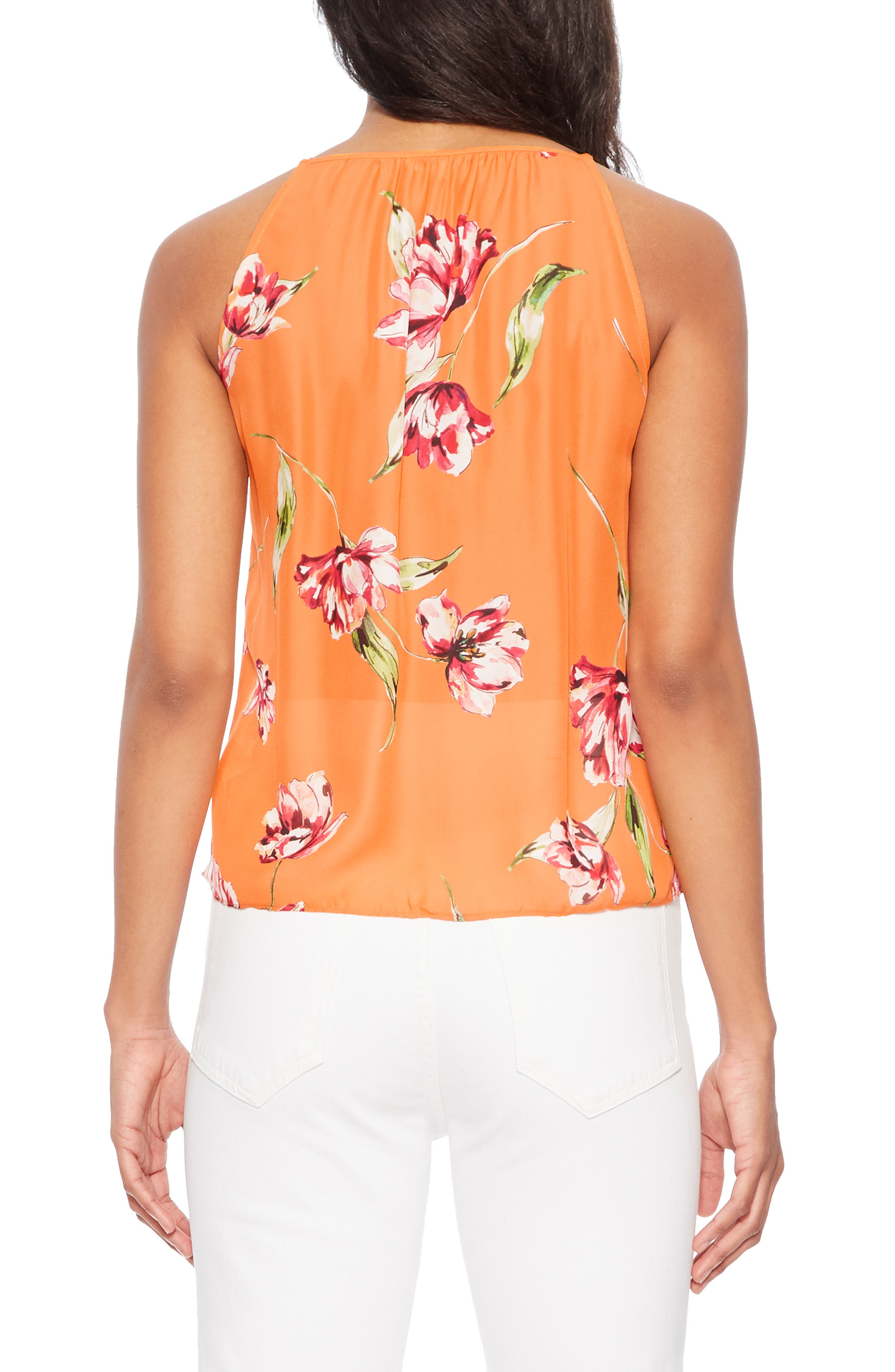 ,                             Rubina Tank,                             Alternate thumbnail 2, color,                             ORANGE MAGNOLIA