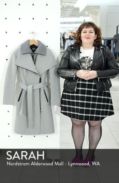 Nori Belted Wool Blend Coat, sales video thumbnail