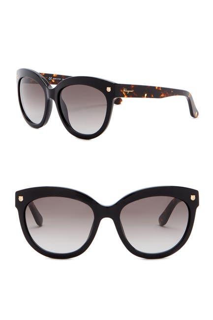 Image of Salvatore Ferragamo 55mm Fashion Sunglasses