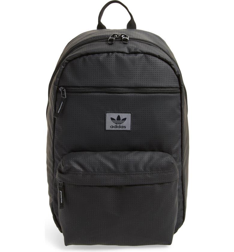 ADIDAS ORIGINALS National Backpack, Main, color, Black