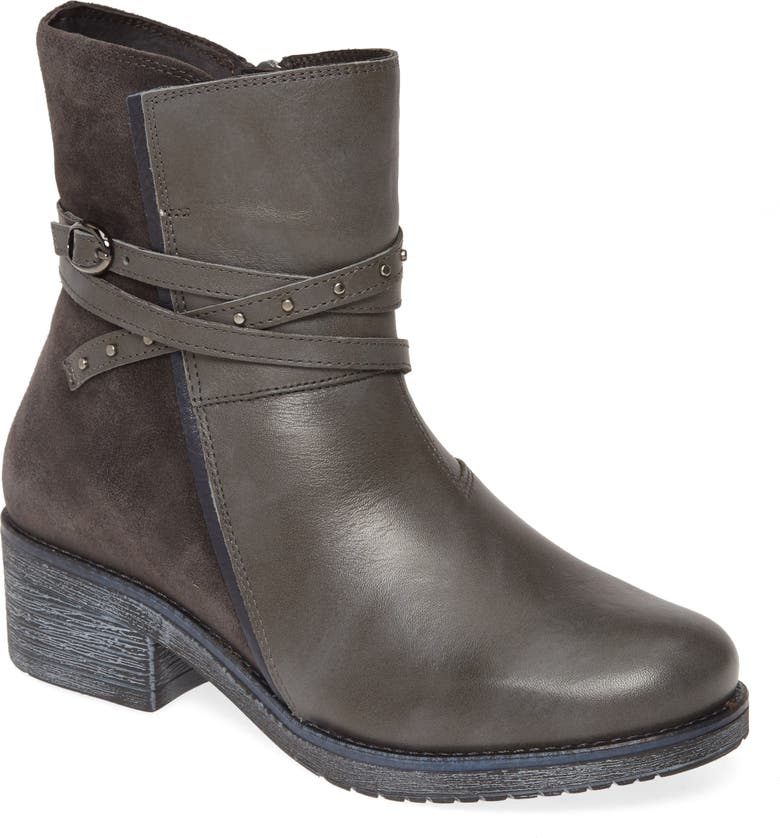 NAOT Poet Water Repellent Boot, Main, color, TIN/ MIDNIGHT/ INK LEATHER