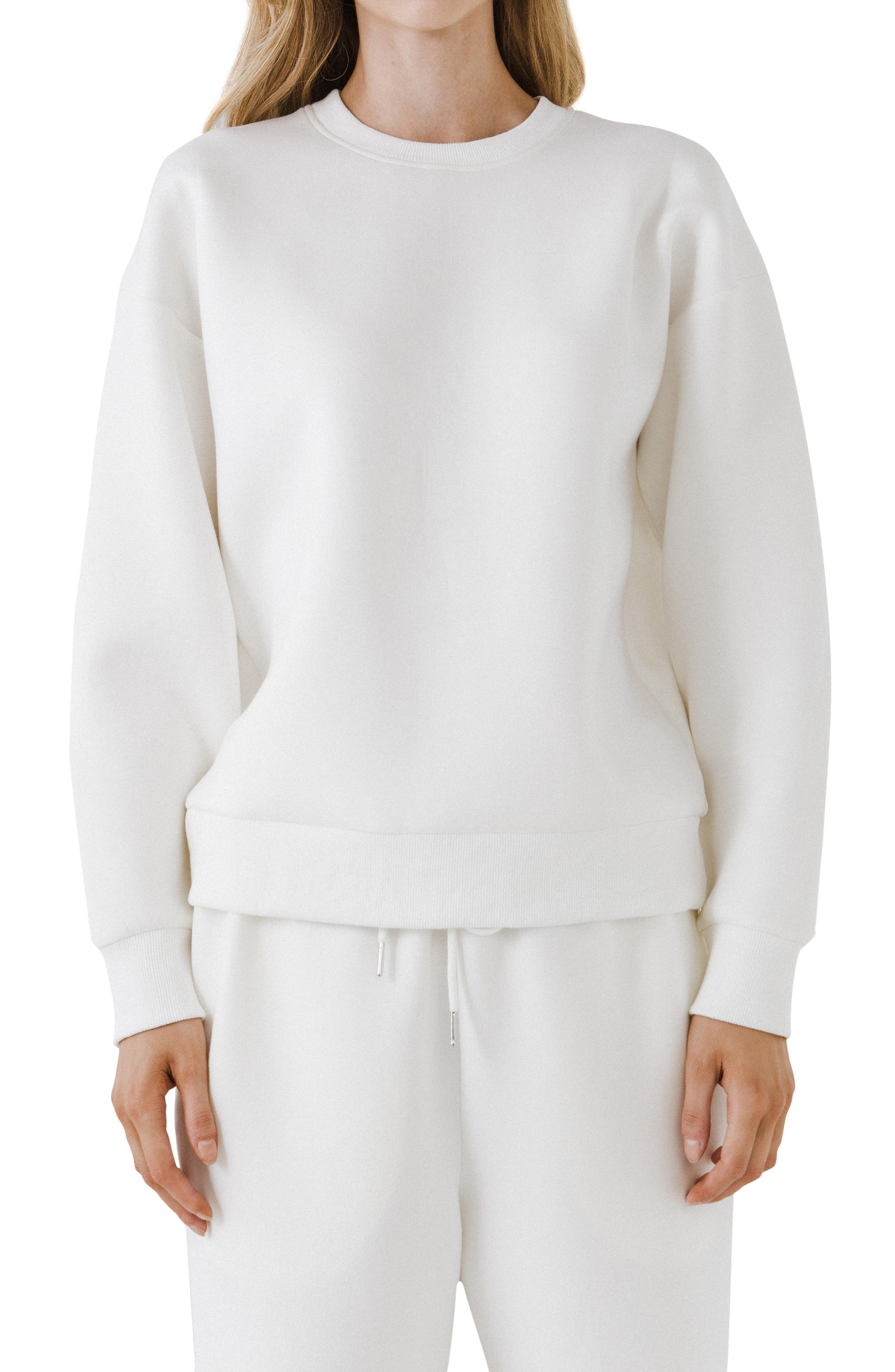 Lounge Wear Crewneck Sweatshirt