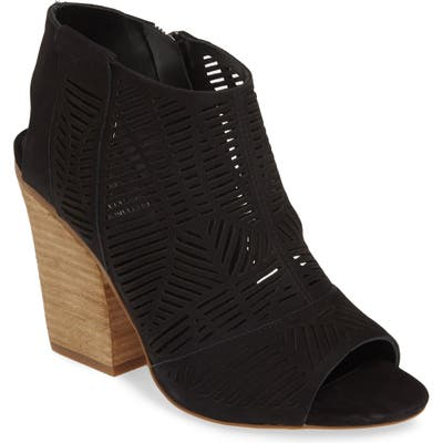 Vince Camuto Kimora Cutout Shield Sandal- Black (Nordstrom Exclusive)