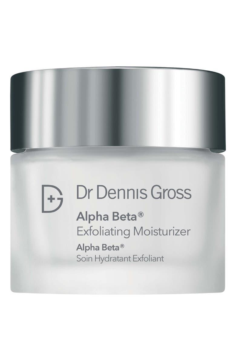 DR. DENNIS GROSS Skincare Alpha Beta<sup>®</sup> Exfoliating Moisturizer Cream, Main, color, NO COLOR