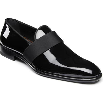 Santoni Isomer Loafer, Black