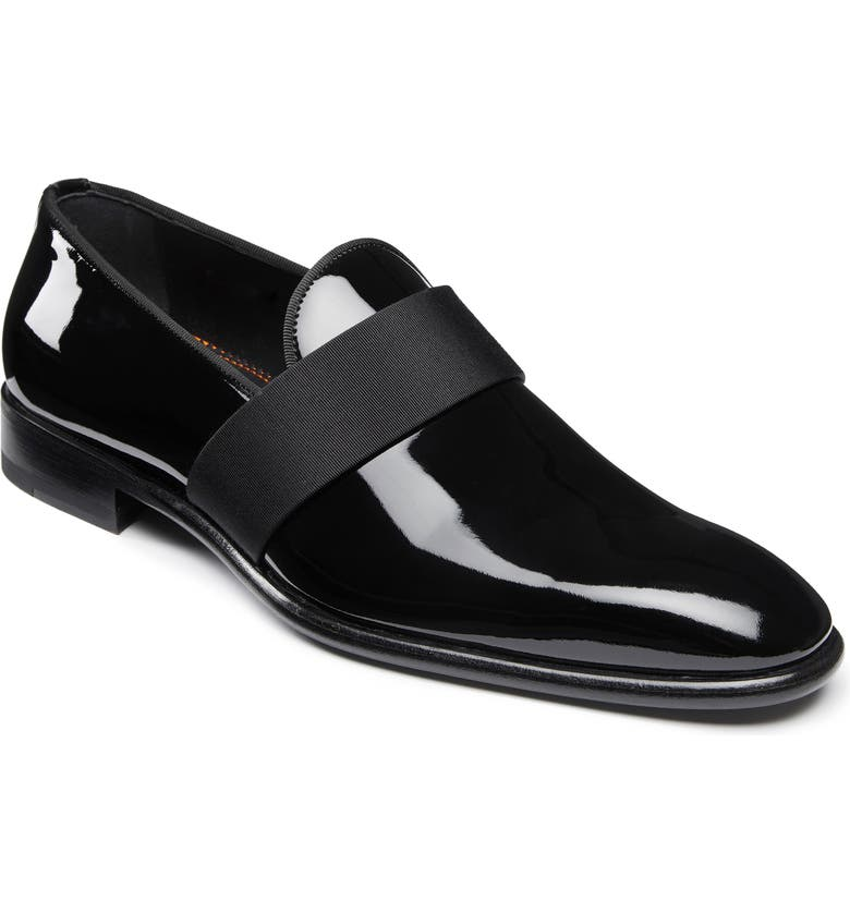 SANTONI Isomer Loafer, Main, color, BLACK