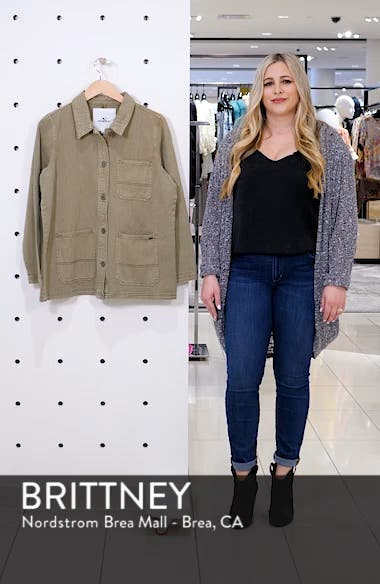La Seine Twill Chore Jacket, sales video thumbnail