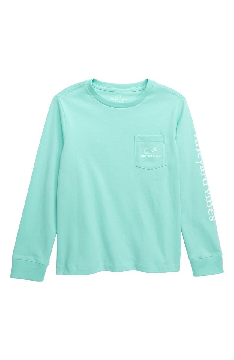 VINEYARD VINES Vintage Whale Graphic Long Sleeve T-Shirt, Main, color, 405