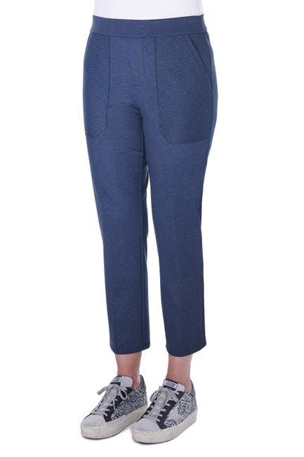 Image of Democracy High Rise Cropped Ponte Pants