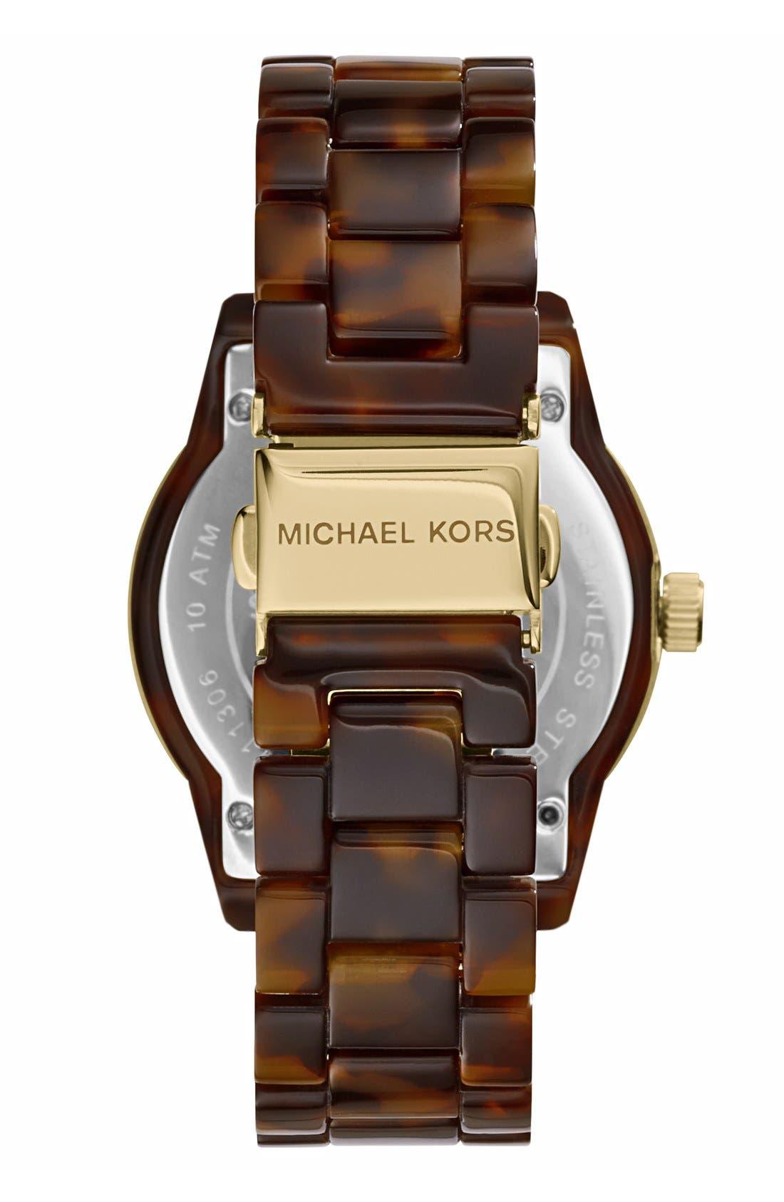 ,                             Michael Kors 'Jet Set' Bracelet Watch, 38mm,                             Alternate thumbnail 5, color,                             TOR