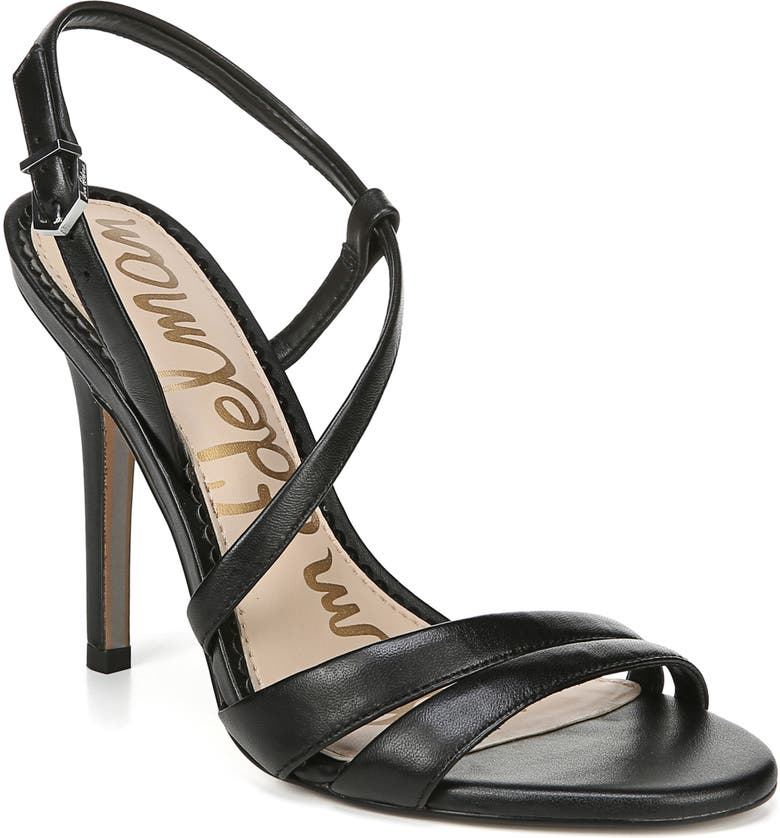 SAM EDELMAN Alisandra Sandal, Main, color, BLACK