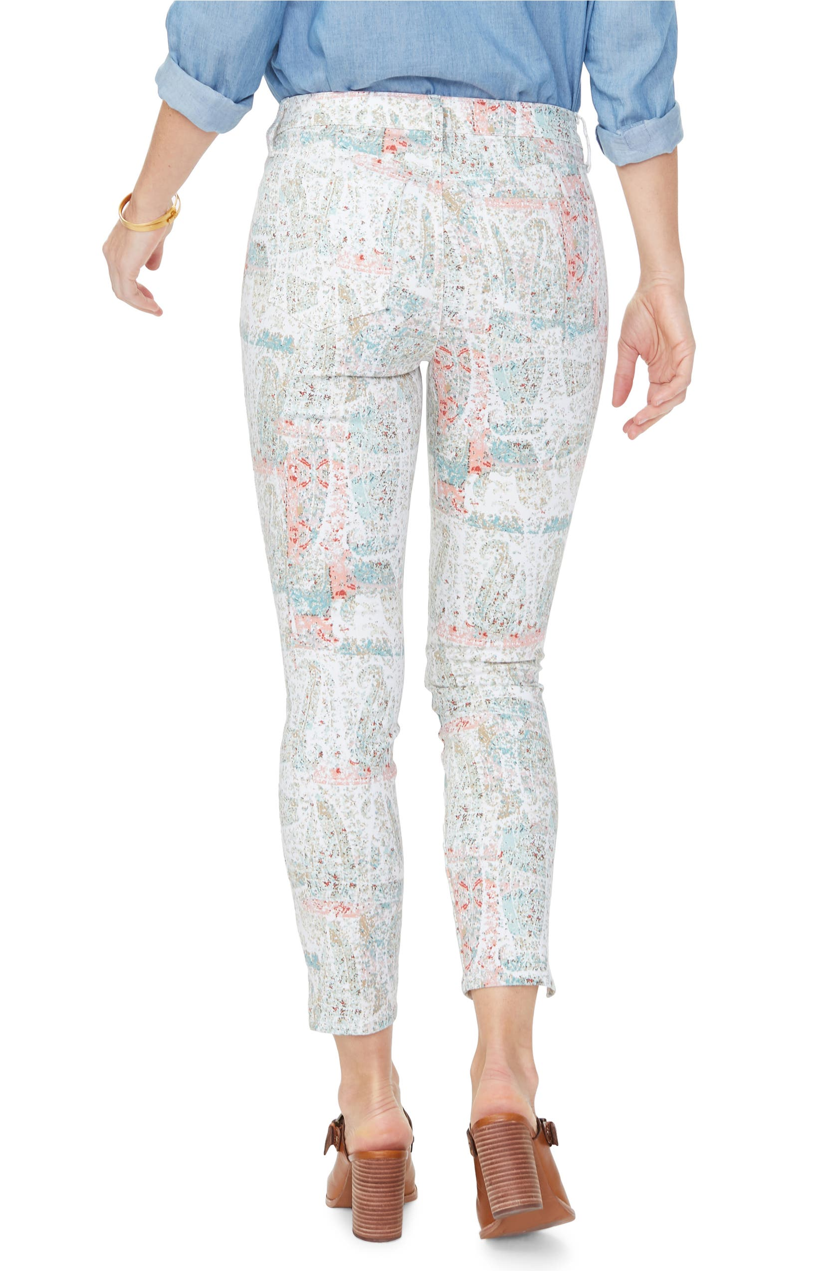 1a447cbca5e NYDJ Ami Ankle Slit Skinny Jeans (Canyon Clay Paisley Impression) |  Nordstrom
