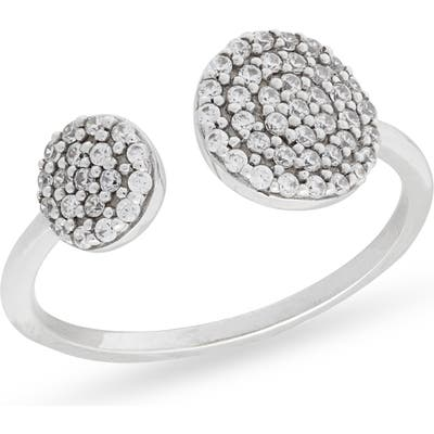 Nordstrom Pave Circles Open Ring