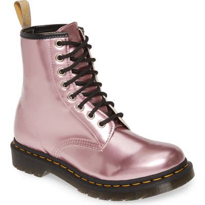 Dr. Martens 1460 Chrome Boot, Pink