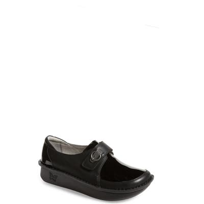 Alegria Dixie Platform Loafer, Black