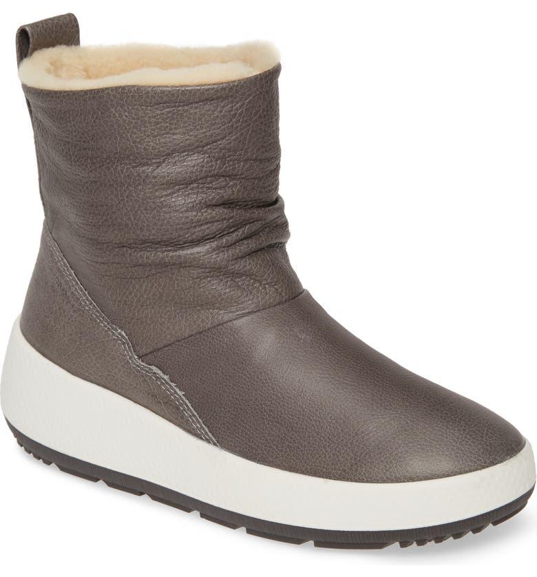 ECCO Ukiuk 2.0 Genuine Shearling Boot, Main, color, 029