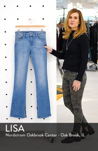 Bridget Split Hem Bootcut Jeans, sales video thumbnail