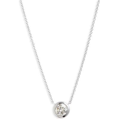 Roberto Coin Diamond Bezel Necklace