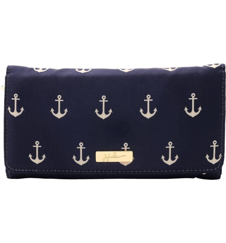 JU-JU-BE Legacy Be Rich Trifold Clutch Wallet, Main, color, THE ADMIRAL