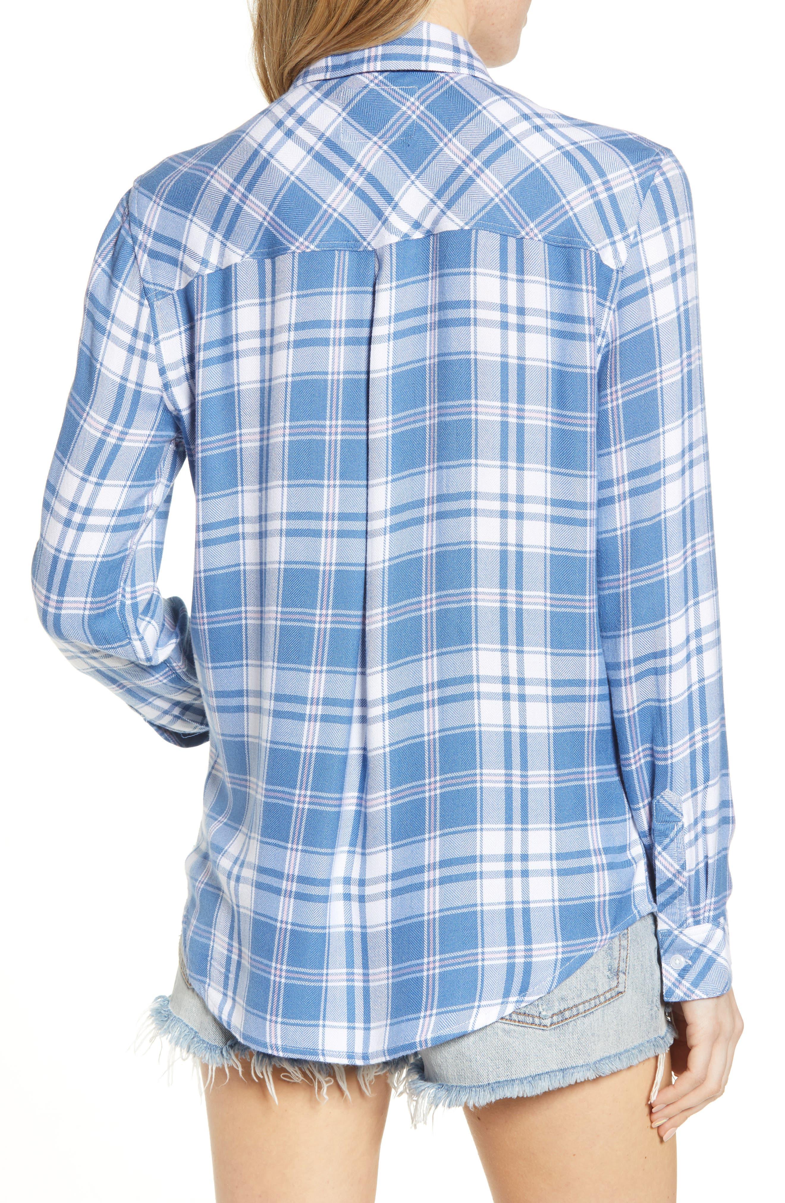 ,                             Hunter Plaid Shirt,                             Alternate thumbnail 158, color,                             481