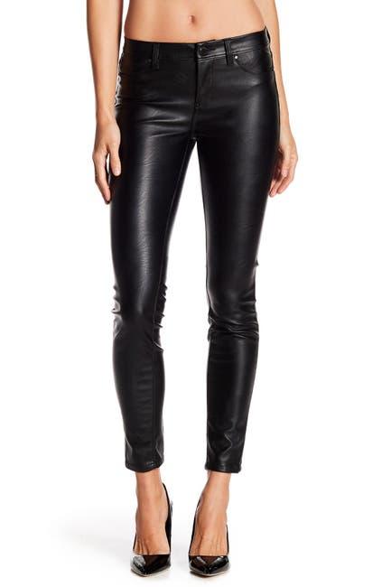 Image of BLANKNYC Denim Faux Leather Skinny Pants